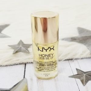 NYX Honey Dew Me Up facial primer gold flakes NWT
